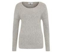 Grobstrick-Pullover beige