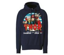 "Kapuzen-Sweatshirt ""Thor"" blau"