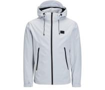 Detailreiche Jacke grau
