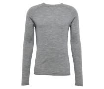 Pullover mit Raglan-Ärmeln 'Craik' hellgrau