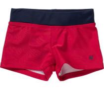 Badehose für Jungen mit UV-Schutz 50+ rot