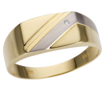 Ring gold / weiß