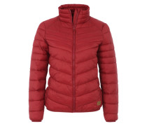 Jacke im Daunenjacken-Look rot