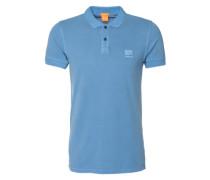 Poloshirt 'Pascha' blau