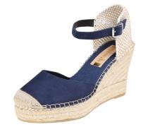 Sandale beige / marine