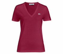 V-Shirt bordeaux