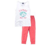 Shirt & Hose als Set (2-tlg.) für Mädchen weiß
