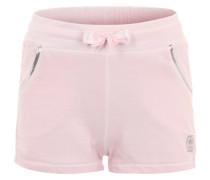 Sweatshorts mit Pailletten pink