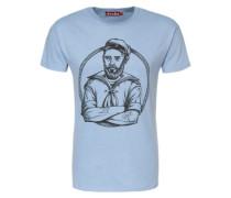 Shirt 'Matelot' blau / grau