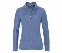 Fleeceshirt »Tabby B« blau