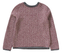 Pullover rot / perlweiß