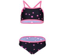Bikini 'nitzummer' enzian / pink