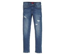 Seattle: Destroyed-Jeans blue denim