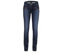 Bauchweg-Jeans blau