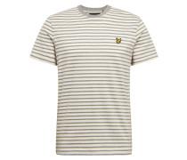 Shirt gelb / weiß / grau