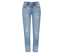 'Awesome' Boyfriend Jeans blau