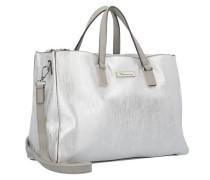 'Nadine' Handtasche 34 cm silber