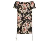 Kleid 'cool Summer' creme / schwarz