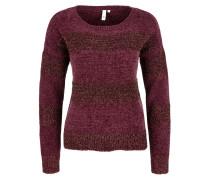 Pullover beere / rotviolett
