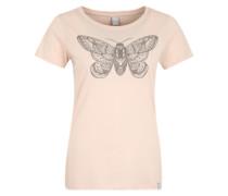 T-Shirt 'Nightfly' rosa