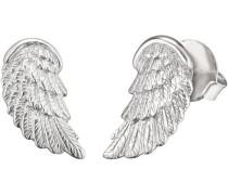 Paar Ohrstecker 'Flügel Ere-Wing-St' silber