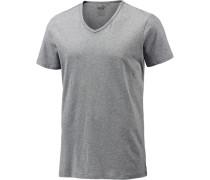V-Shirt Herren grau