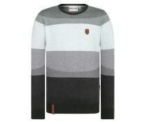 Knit Pullover grau / mint