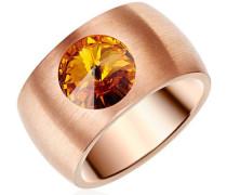 Ring Made With Swarovski ELEMENTSorange