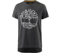 T-Shirt graphit / hellgrau