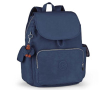 'City Pack L B' Rucksack 35 cm blau