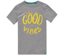 T-Shirt 'LB Good Vibes' grau
