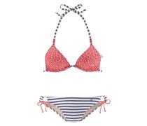 Triangel-Bikini rot