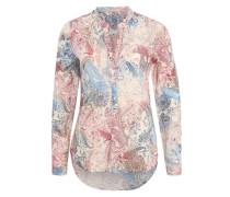 Bluse mit Paisleyprint bordeaux / creme / mischfarben