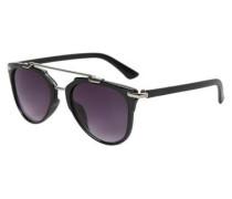 Klassische Sonnenbrille schwarz