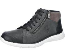 Sneakers anthrazit / schwarz