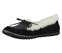 Slipper Out N About Felt Moc Nl2431-010 schwarz