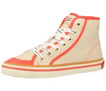 Sneaker grau / orange