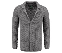 Strickjacke 'ST Peak jacket' grau