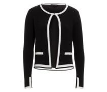 Cardigan schwarz / weiß