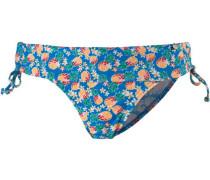 Bikini Hose Damen blau / mischfarben
