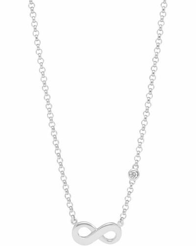 Silberkette 'Infinity' silber