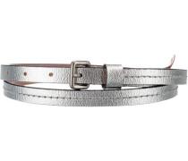 Zita metall Gürtel silber