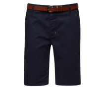 Chino 'chino Basic Belt' navy