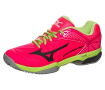 'Wave Exceed Tour 2 CC' Tennisschuh Damen hellgrün / grenadine