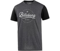 'Outfield' T-Shirt Herren graumeliert