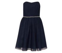 Cocktail Kleid blau