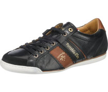 Savio Uomo Low Sneakers schwarz