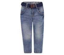 KANZ Kanz Jeans mit Flechtgürtel Jungen Kinder blau