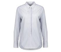 Hemdbluse 'Forma stripe' hellblau / weiß