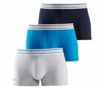 Boxer (3 Stück) navy / himmelblau / graumeliert